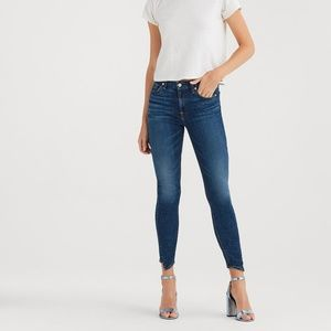 NWT 7 for all Mankind b(Air) Skinny Ankle Size 28